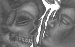 Winner, April-May 2021 Contest: Life and Death by Kristin Rule, Class of 2023, Pencil Drawing